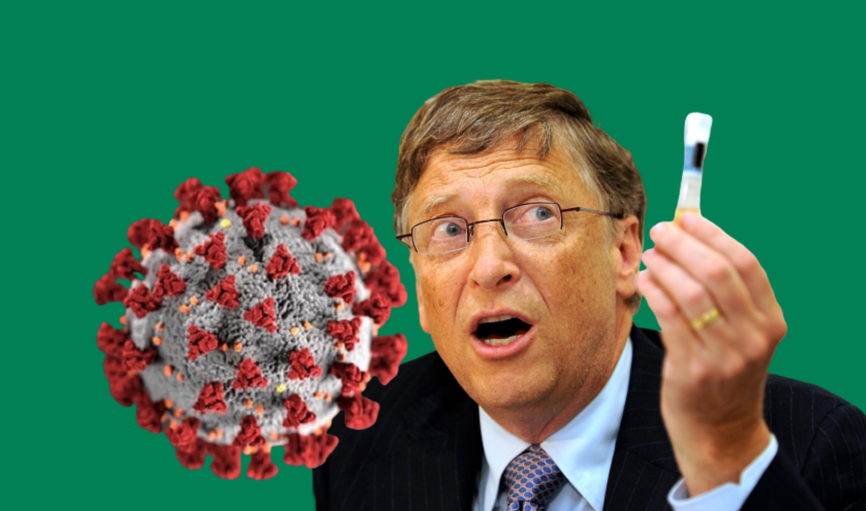 Bill Gates' Quantum Dot Digital Tattoo Implant to Track COVID-19 Vaccine Compliance